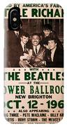 The Beatles And Little Richard Poster Collection 6 IPhone Case