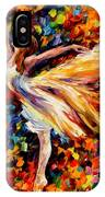 The Beauty Of Dance IPhone Case