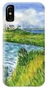 The Berkeley Island Pond IPhone Case