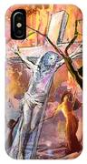 The Bible Crucifixion IPhone Case