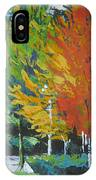 The Big Red Tree IPhone Case