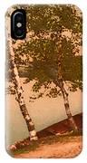 The Birches At Oak Birch Inn, Alton Bay, Lake Winnipesaukee, N. H.  IPhone Case