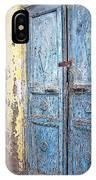 The Blue Doors Nubian Village IPhone Case