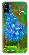 The Blue Flower IPhone Case