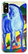 The Blue Horse Franc Marz IPhone Case
