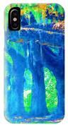 The Blue Live Oaks IPhone Case