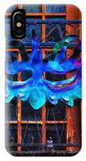 The Blue Mask IPhone Case