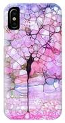 The Blushing Tree In Bloom IPhone Case