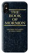 The Book Of Mormon IPhone Case