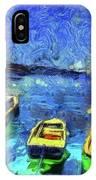 The Bosphorus Istanbul Art IPhone Case