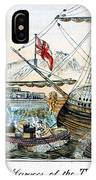The Boston Tea Party, 1773 IPhone Case