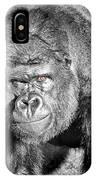 The Bouncer Gorilla IPhone Case by David Millenheft