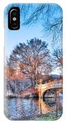The Bow Bridge In Central Park IPhone Case