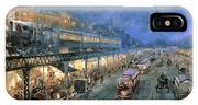 The Bowery At Night IPhone Case