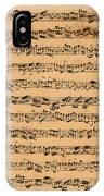 The Brandenburger Concertos IPhone Case