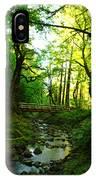The Bridge At Wyeth  IPhone Case