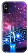 The Bridge Between Two Worlds IPhone Case