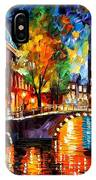 The Bridges Of Amsterdam IPhone Case