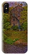 The Bronx River Stone Mill IPhone Case