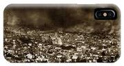 The Burning Of San Francisco Panoramic View Of San Francisco From Twin Peaks April 1906 IPhone Case
