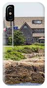 The Bush Compound Kennebunkport Maine IPhone Case