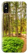 The Cabin In Montana IPhone Case