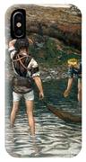 The Calling Of Saint Peter And Saint Andrew IPhone Case