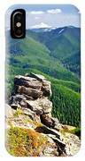 The Cascade Mountains IPhone Case
