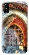 The Castle Door - La Porta Del Castello IPhone Case