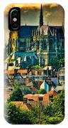 The Cathedral At Arundel IPhone Case