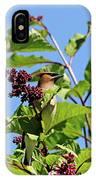 The Cedar In The Lilac IPhone Case