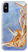 The Cephalopod Maid IPhone Case