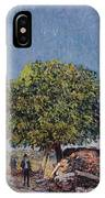 The Chestnut Tree At Saint-mammes IPhone Case
