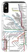 The Chicago Pubway Map IPhone Case