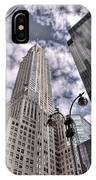 The Chrysler Building In Nyc Usa IPhone Case