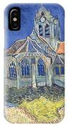 The Church At Auvers Sur Oise IPhone Case