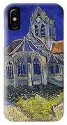 The Church At Auvers IPhone X Case