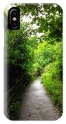 The Cliff Path At Lynton 4 IPhone Case