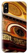 The Clock In The Union Station Nashville IPhone Case