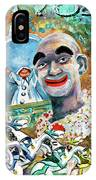 The Clown Of Tivoli Gardens IPhone Case