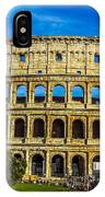 The Colosseum In Rome Italy IPhone Case
