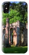The Columns Old Sheldon Church Ruins IPhone Case