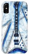 The Concorde Blueprint IPhone Case