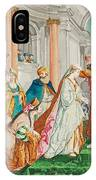 The Coronation Of Esther IPhone Case