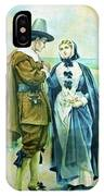 The Courtship Of Miles Standish IPhone Case
