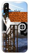 The Cow House IPhone Case