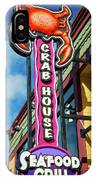 The Crab House Seafood Grill IPhone Case