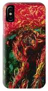 The Cross, The World And Fire - Bgcwf IPhone Case