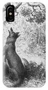 The Crow And The Fox IPhone Case