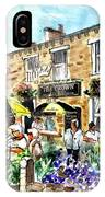 The Crown Hotel In Hawes IPhone Case